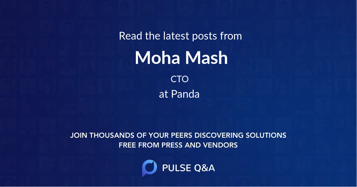 Moha Mash