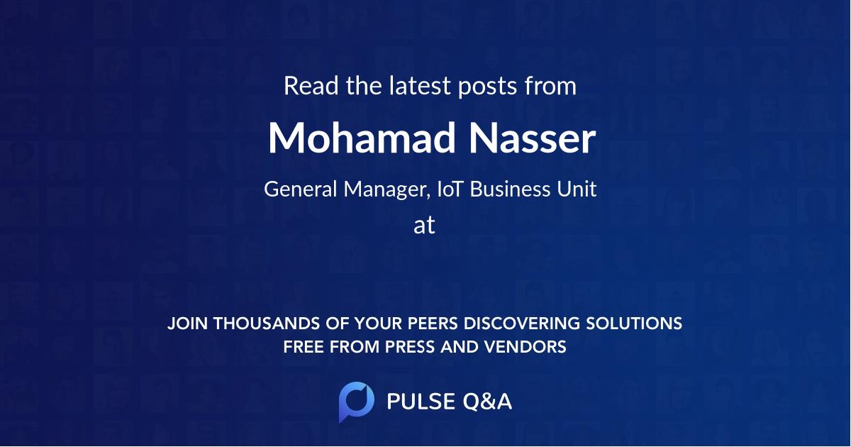 Mohamad Nasser