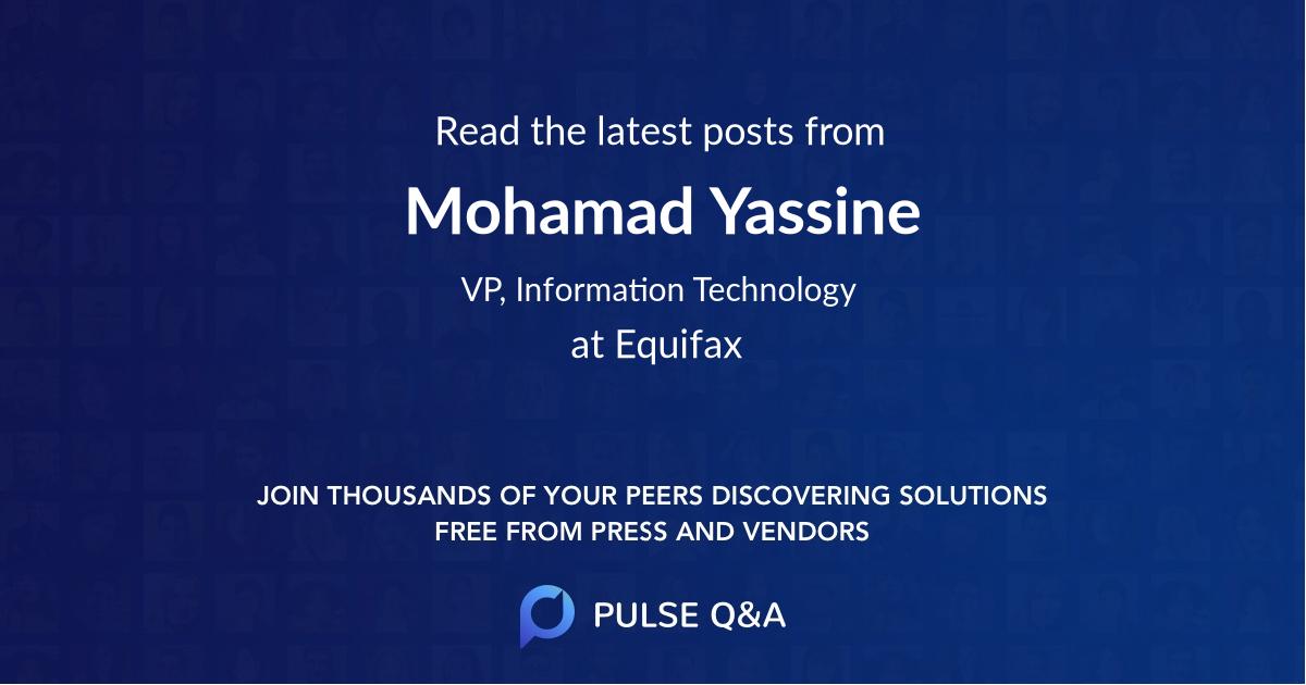 Mohamad Yassine