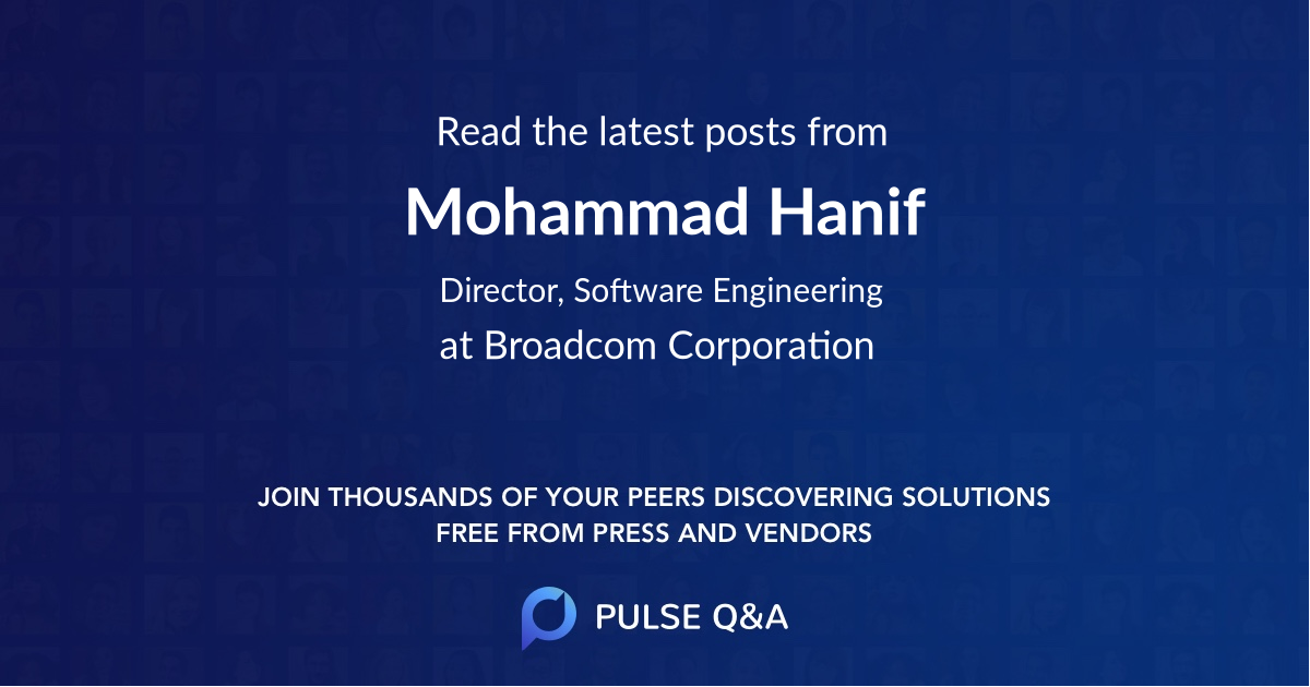 Mohammad Hanif