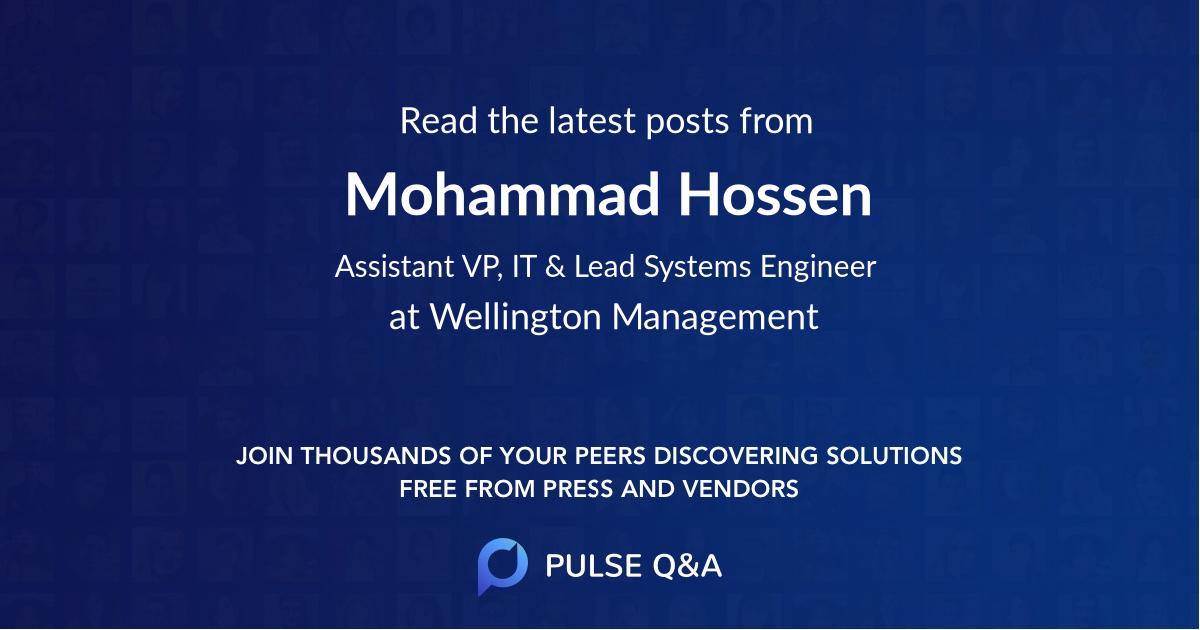Mohammad Hossen