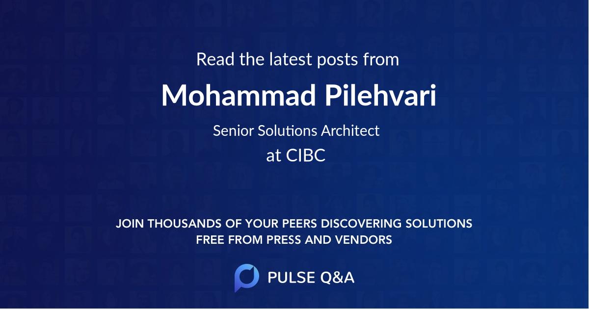 Mohammad Pilehvari