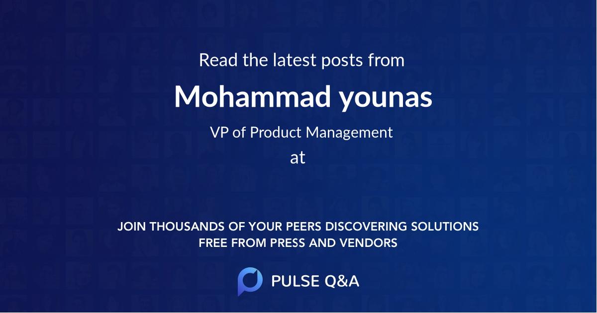 Mohammad younas
