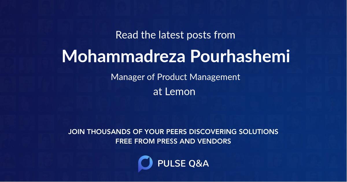 Mohammadreza Pourhashemi