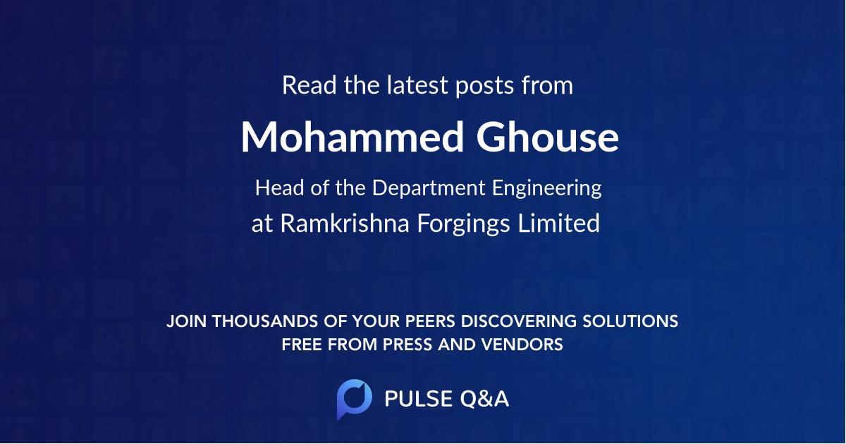 Mohammed Ghouse