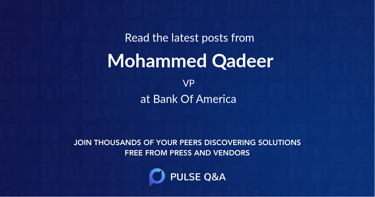Mohammed Qadeer