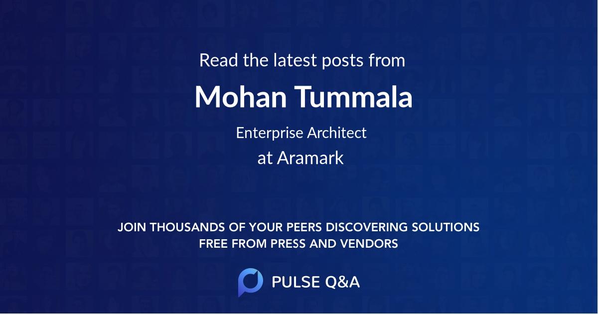 Mohan Tummala