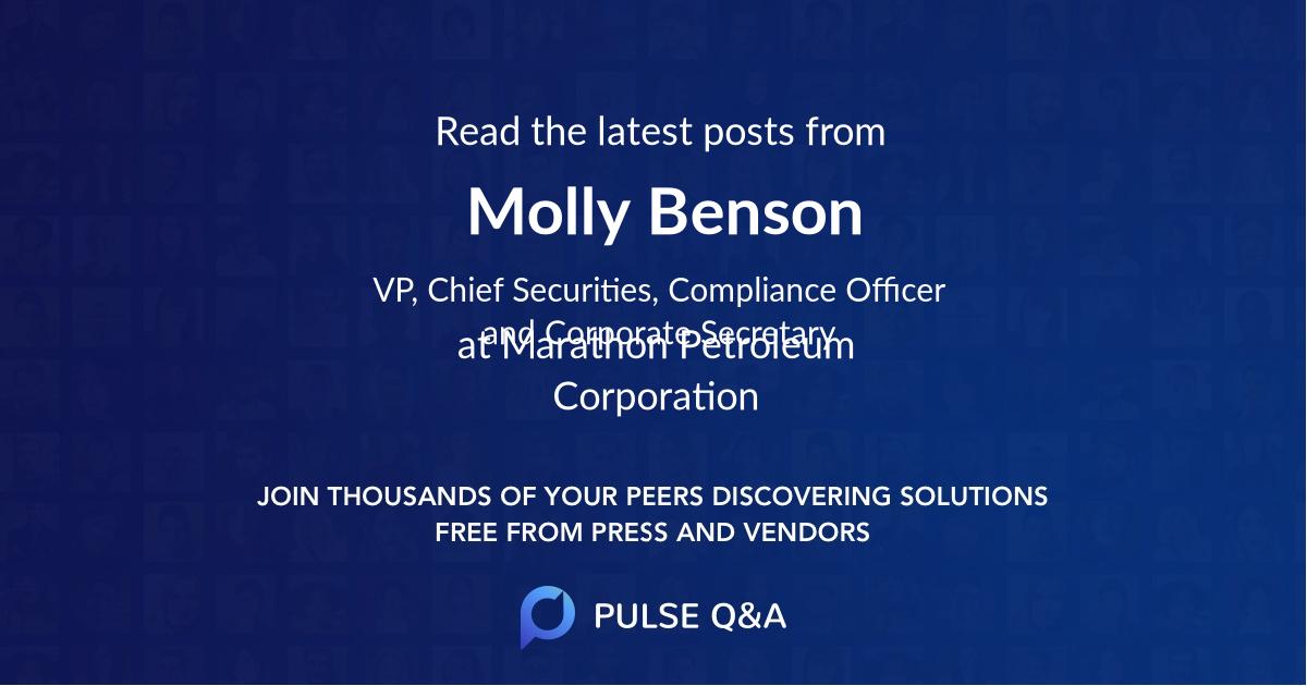Molly Benson