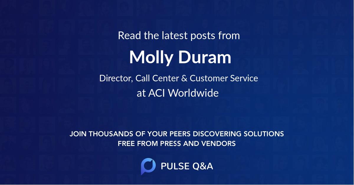Molly Duram