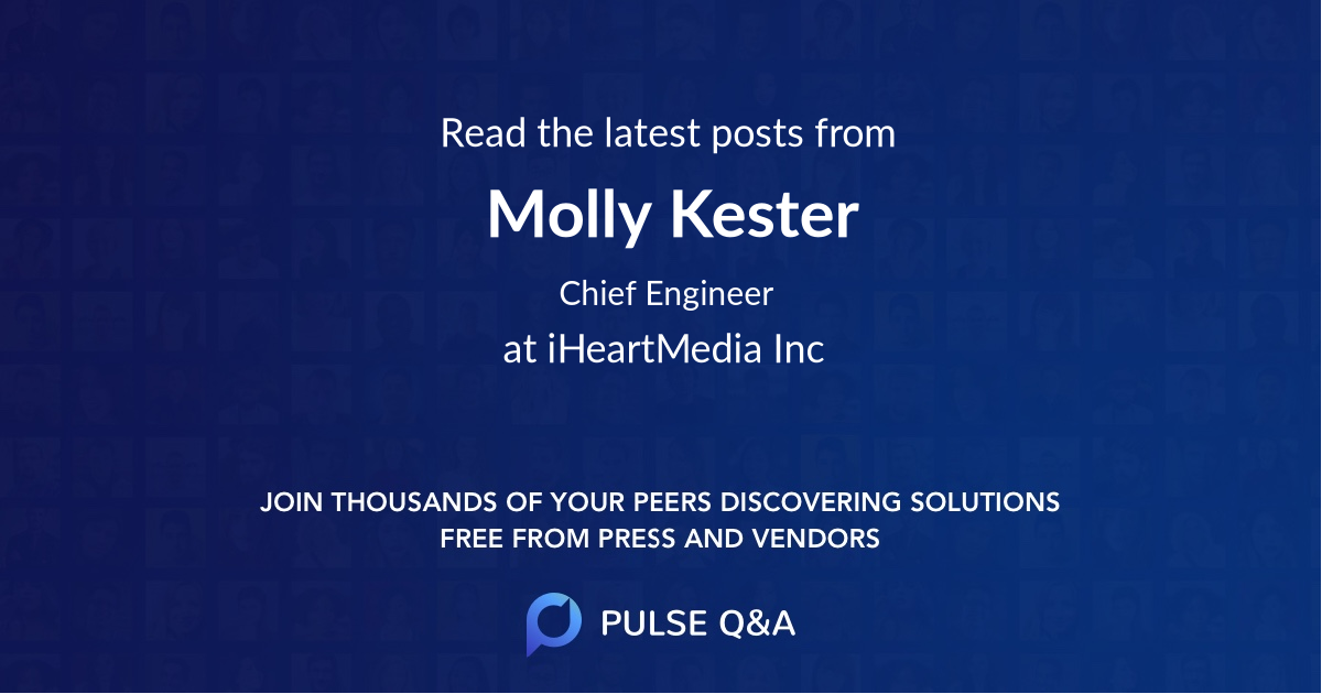 Molly Kester