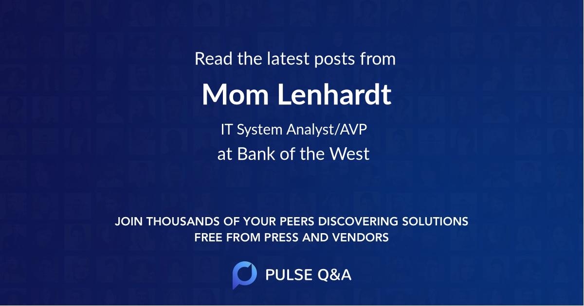 Mom Lenhardt