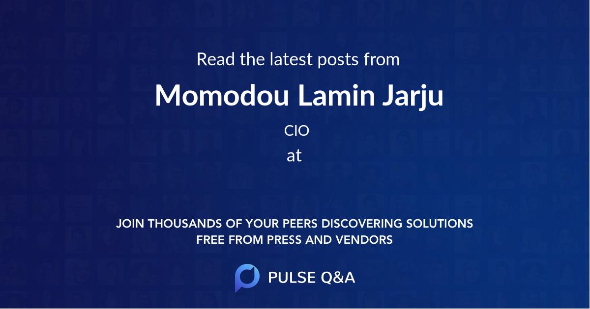 Momodou Lamin Jarju