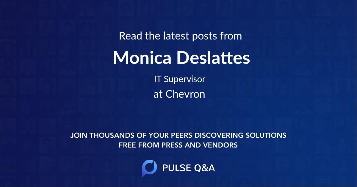 Monica Deslattes