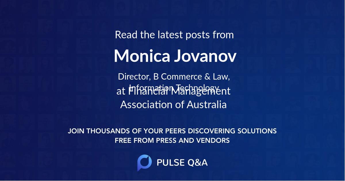 Monica Jovanov