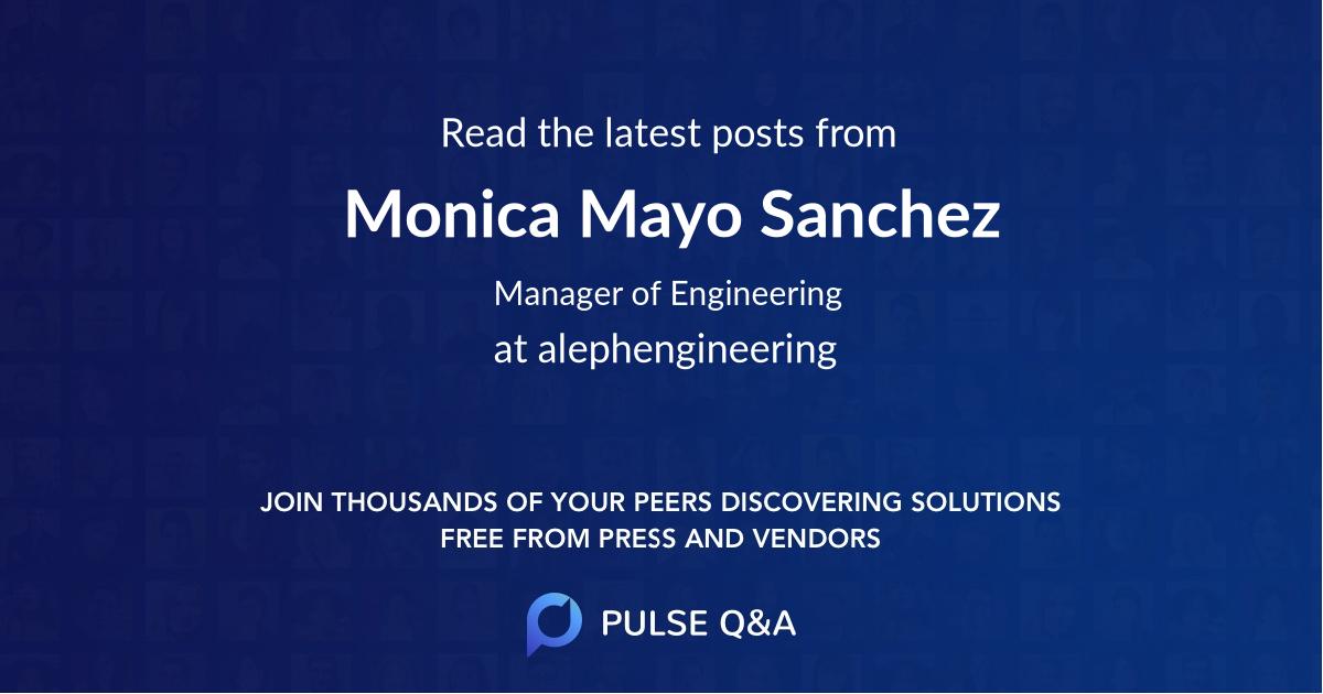 Monica Mayo Sanchez