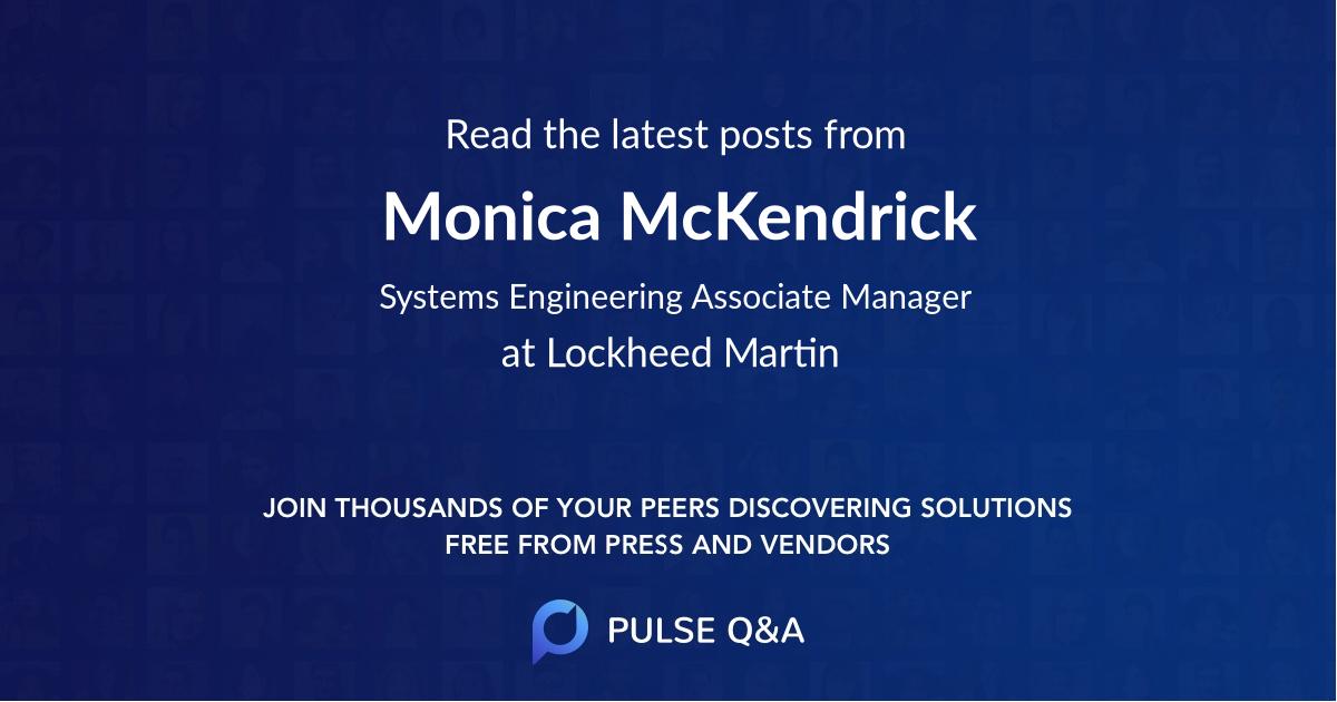 Monica McKendrick