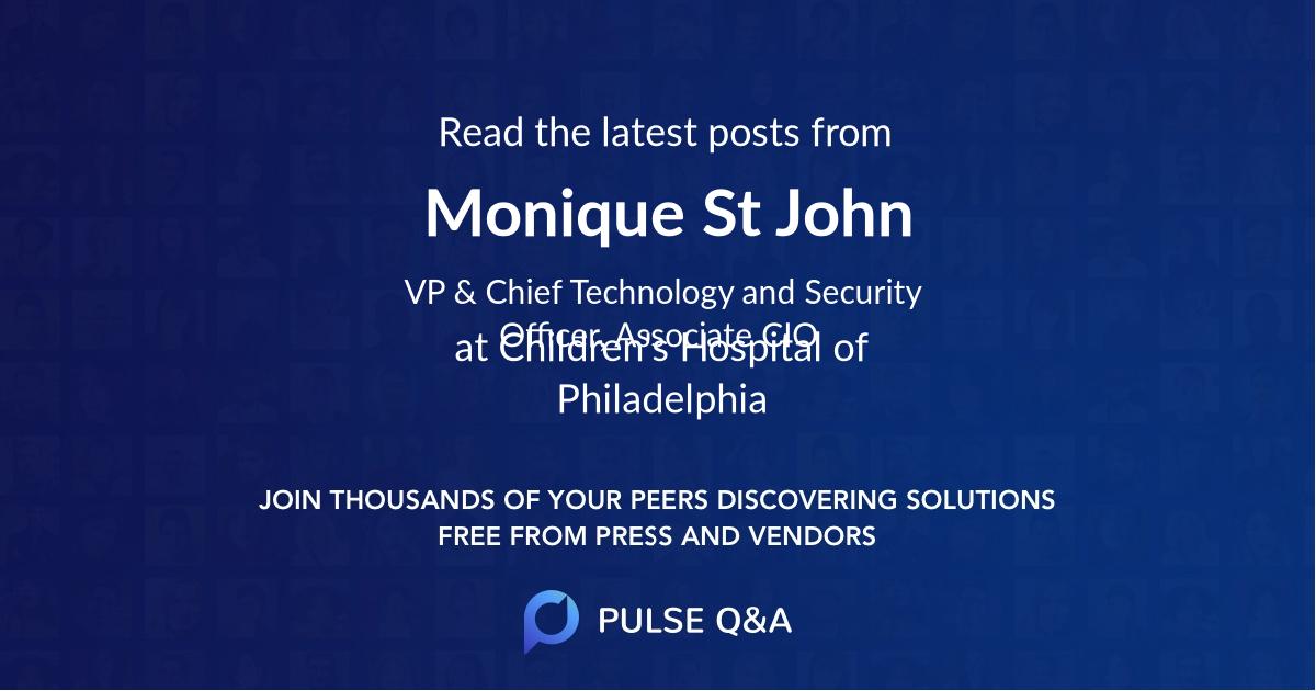 Monique St. John