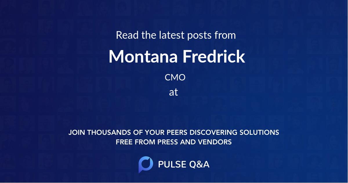 Montana Fredrick