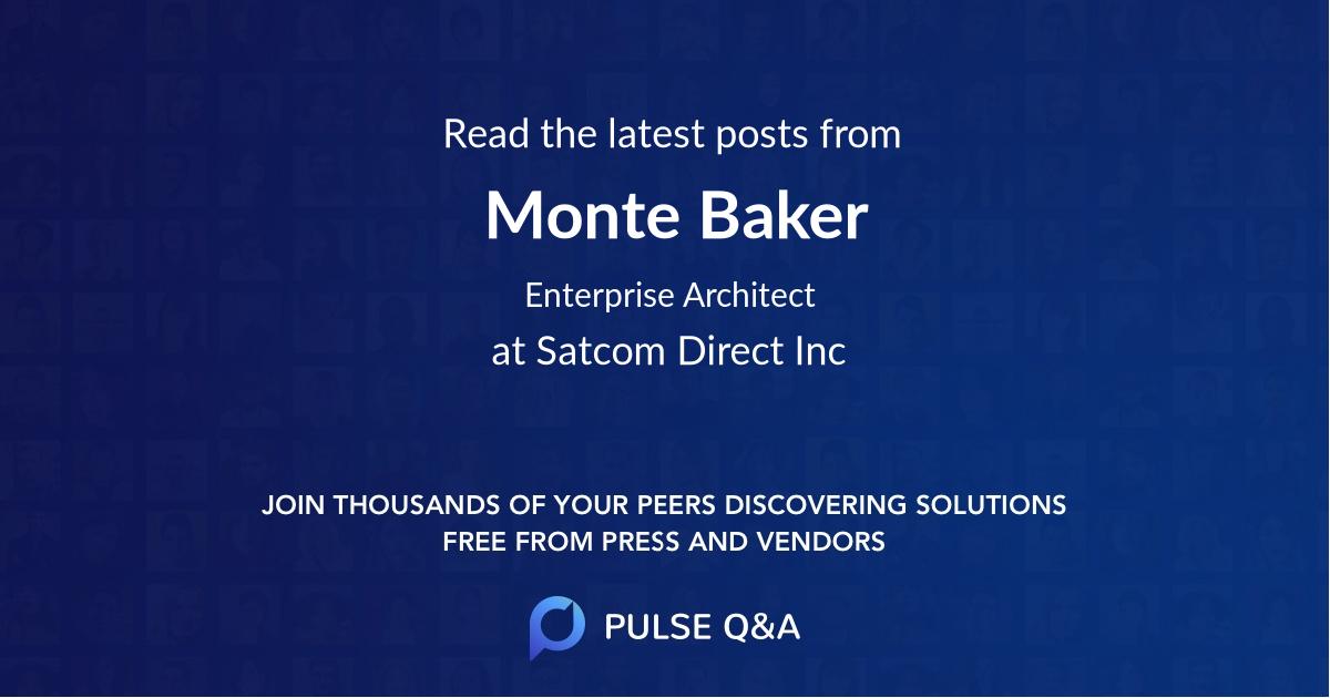 Monte Baker