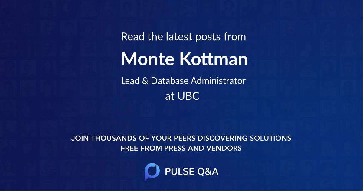 Monte Kottman
