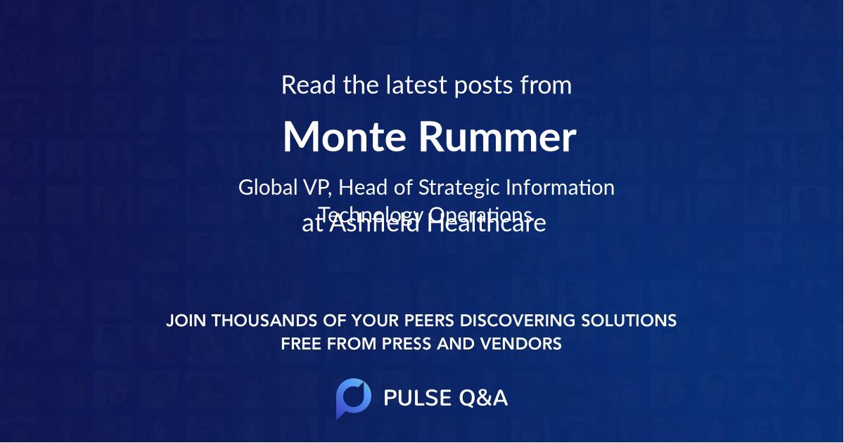 Monte Rummer