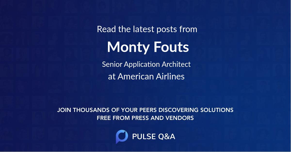 Monty Fouts