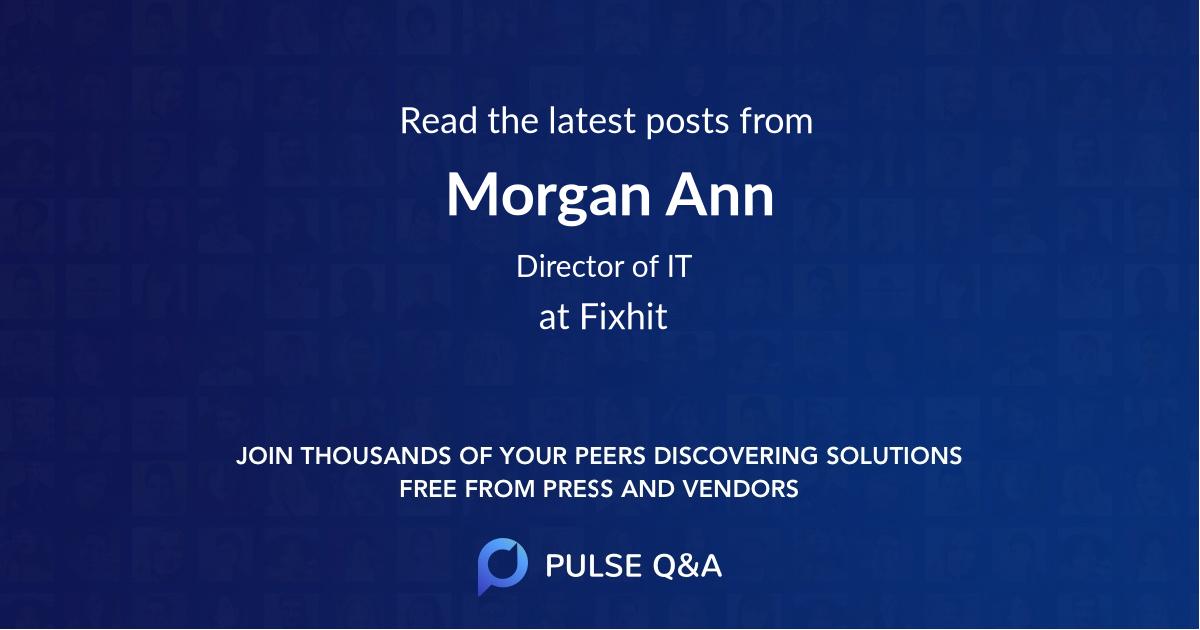 Morgan Ann
