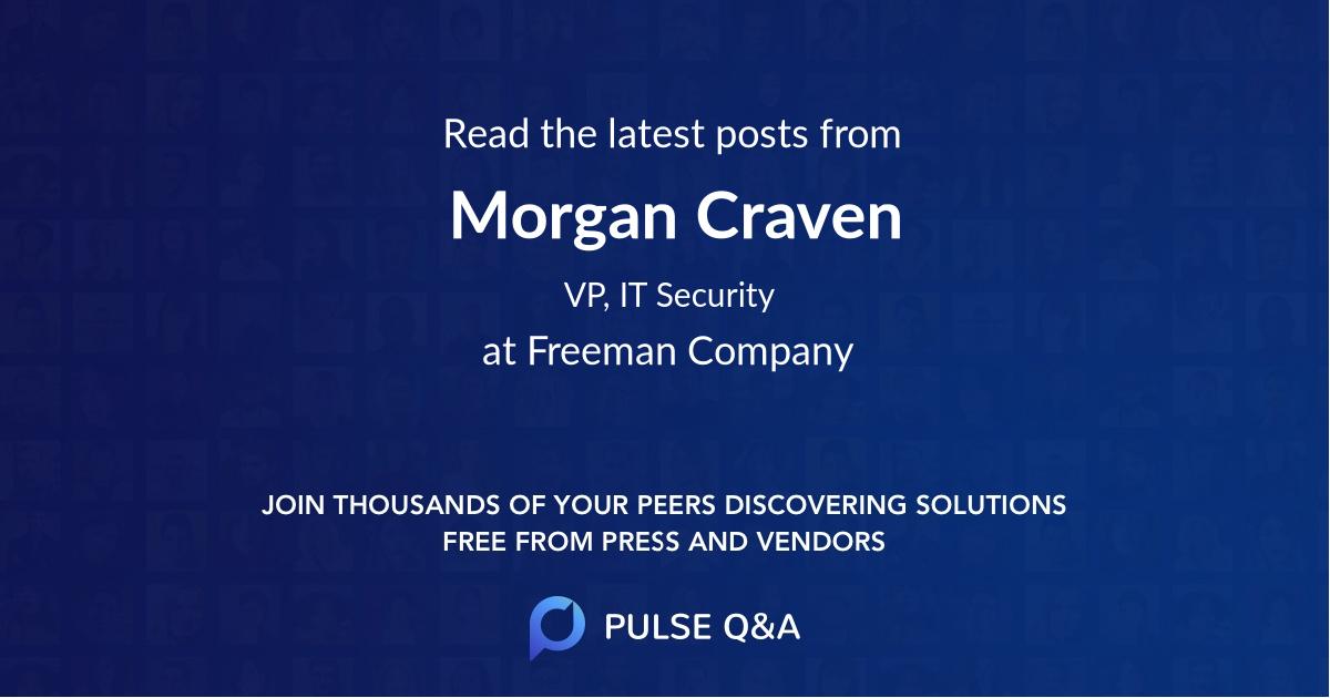 Morgan Craven