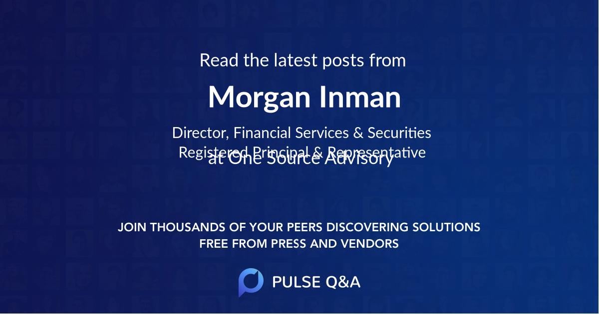 Morgan Inman