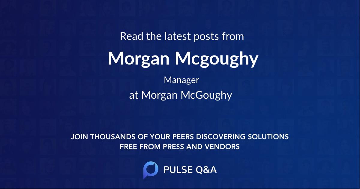 Morgan Mcgoughy