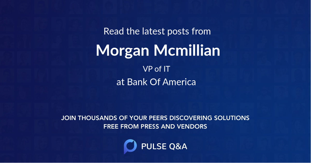 Morgan Mcmillian