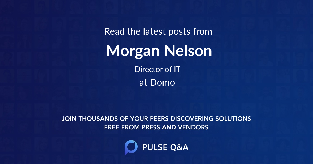 Morgan Nelson
