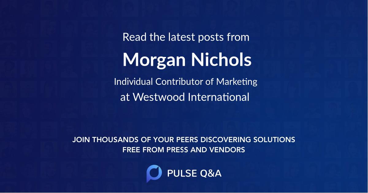 Morgan Nichols