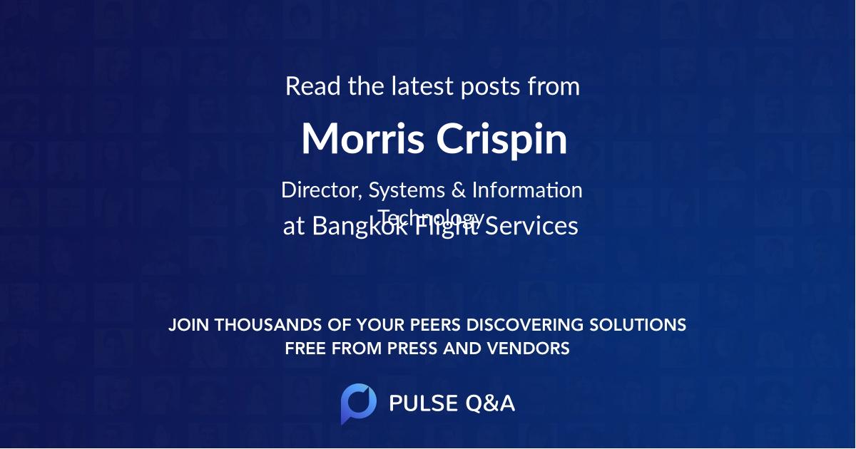 Morris Crispin