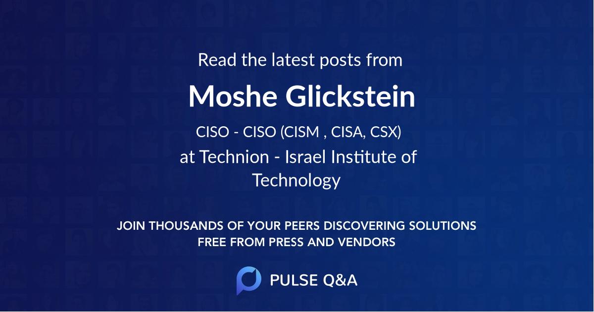 Moshe Glickstein