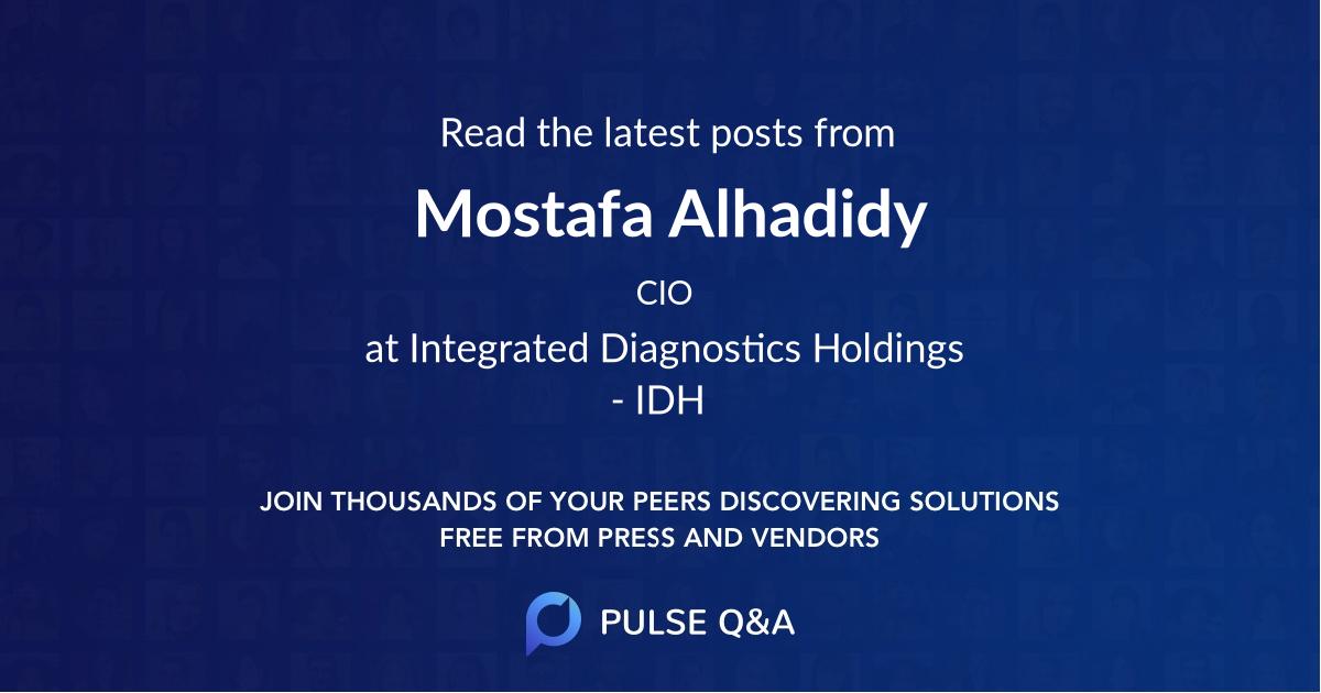Mostafa Alhadidy