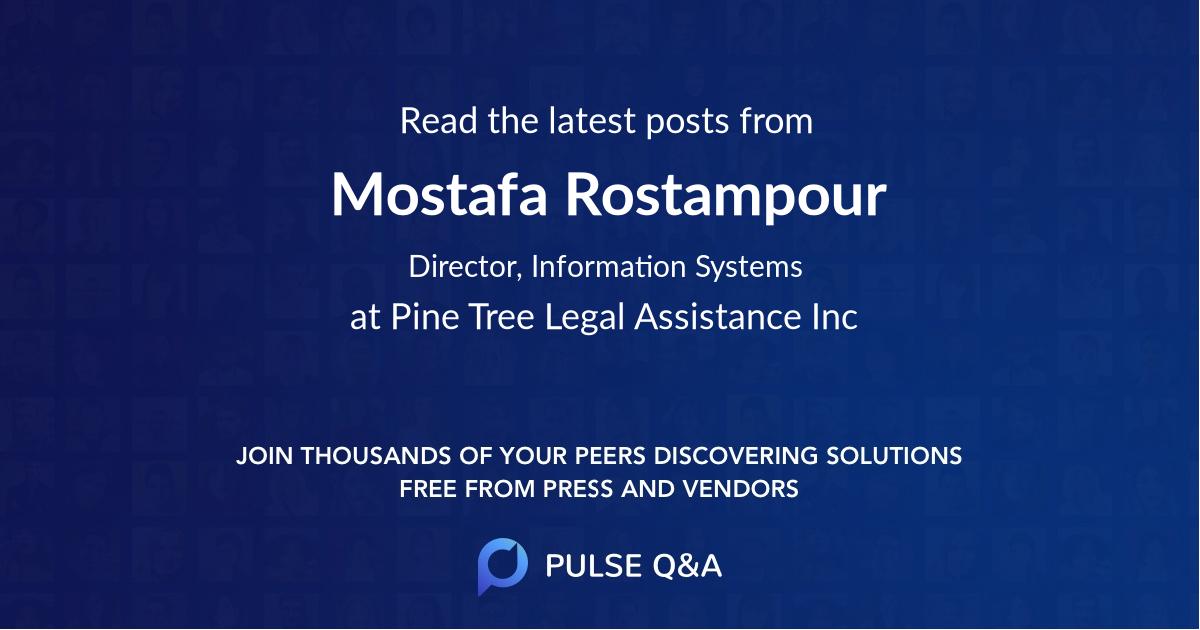 Mostafa Rostampour
