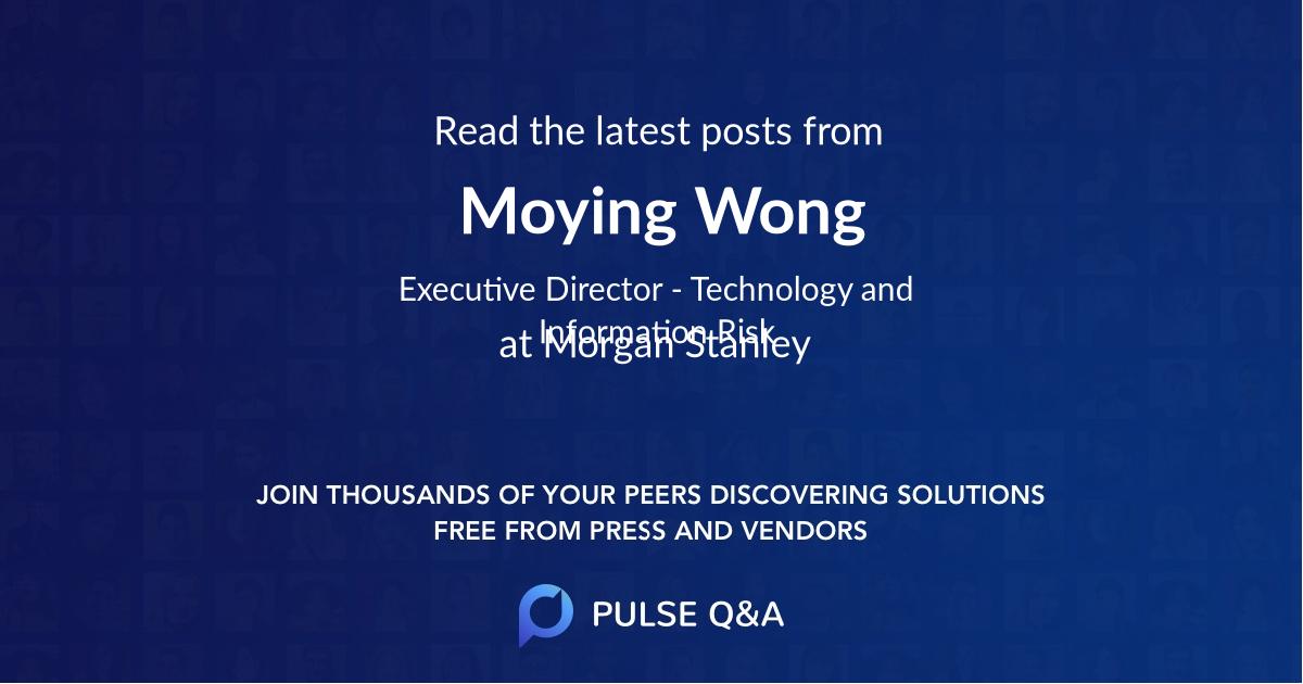 Moying Wong