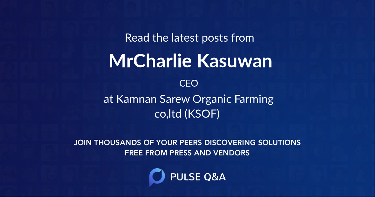 Mr.Charlie Kasuwan