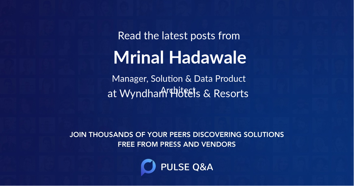 Mrinal Hadawale