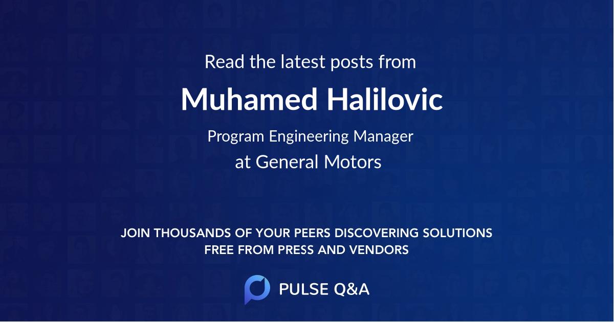 Muhamed Halilovic