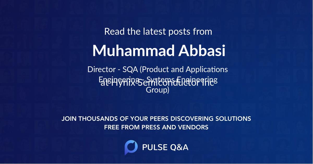 Muhammad Abbasi