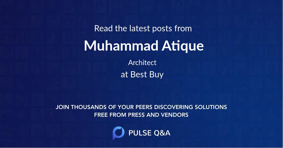 Muhammad Atique