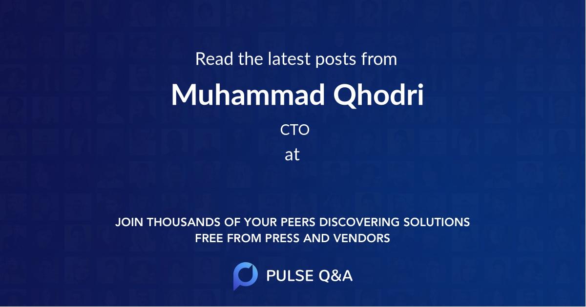 Muhammad Qhodri