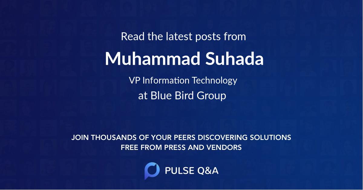 Muhammad Suhada