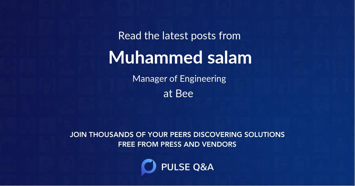 Muhammed salam