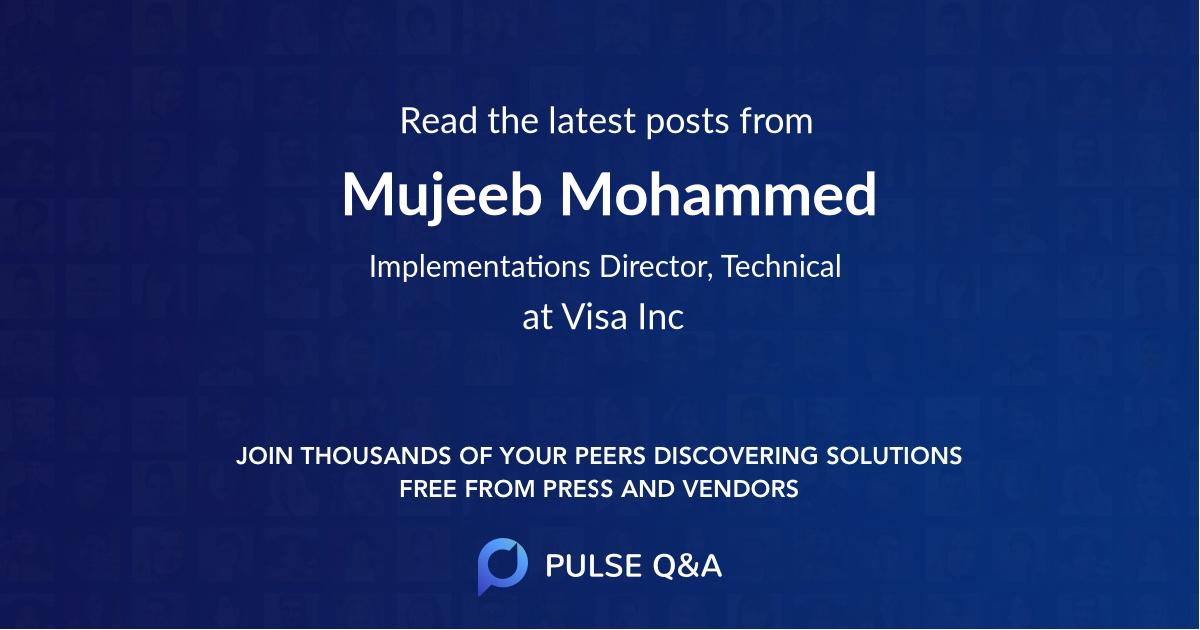 Mujeeb Mohammed