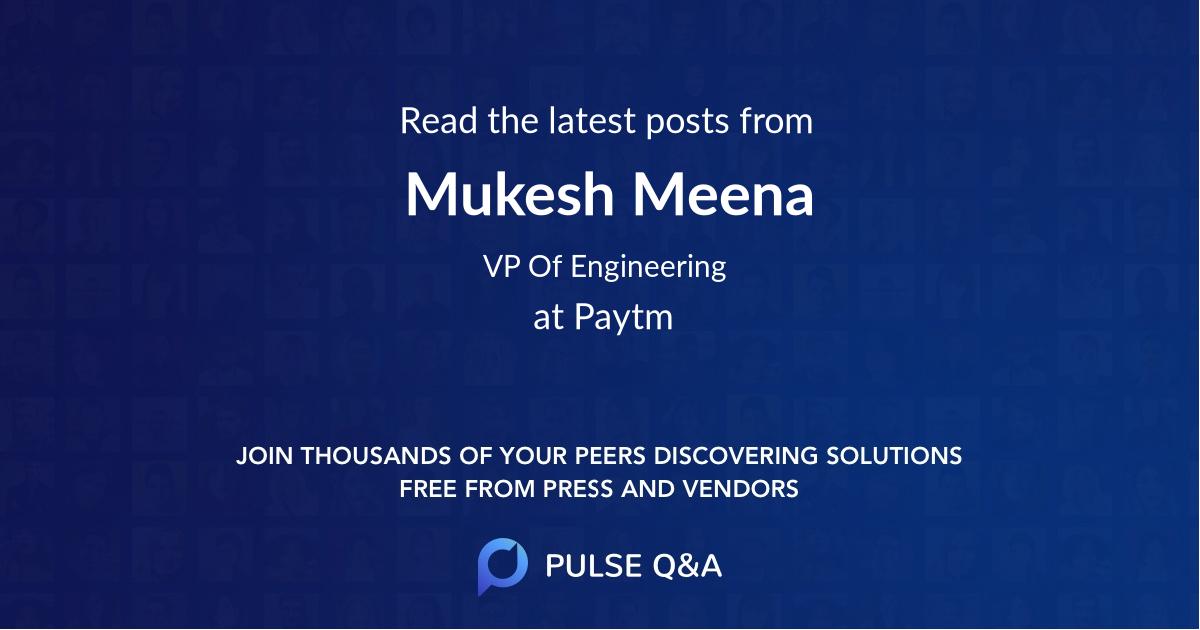 Mukesh Meena