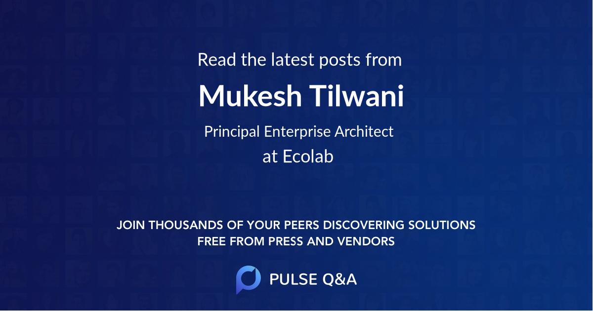 Mukesh Tilwani