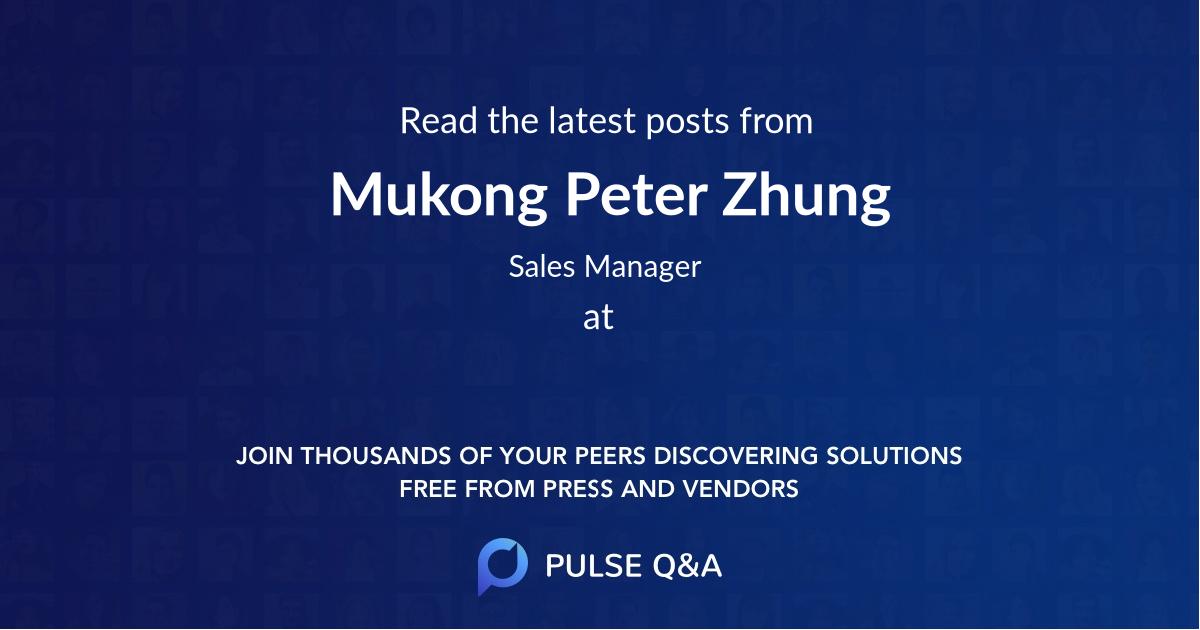 Mukong Peter Zhung
